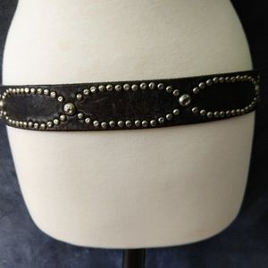 Lucky Brand Accessories - LUCKY BRAND   Genuine Leather Studded Belt Size 34